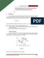 Integral Romberg Sebagai Metode Perhitungan Untuk Menilai Pengaruh Toleransi Nilai Komponen Pasif (R Dan C) Terhadap Unjuk Kerja Rangkaian Elektronis