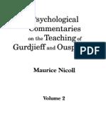 Nicoll - Psychological Commentaries Vol II gurdjieff
