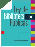Cartilla Ley de Bibliotecas (Artes Mayo 21)