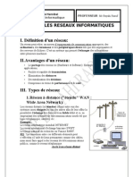 Ch4 Les Reseaux Informatiques