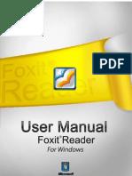 FoxitReader50_Manual