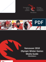 Vancouver 2010 Olympics Media Guide
