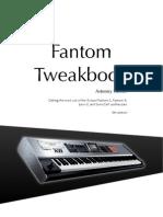 Fantom Tweakbook e5 Contents