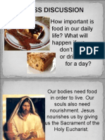 Lesson 10 - Eucharist as Sacred Meal, Memorial and Sacrfice
