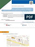 """Conferència """"L'Aprenentatge Servei a Califòrnia i a Girona"""" - 26oct11"""