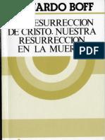 Boff, Leonardo - La Resurreccion de Cristo