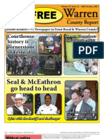The Mid October, 2011 edition of Warren County Report