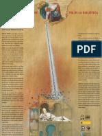 Cartel Día de la Biblioteca 2008