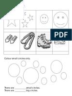 English Worksheet - Big and Small