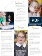 Down Syndrome Inclusion Support Service