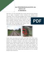 37269219 Asal Mula Jalan Rel Kereta API Di Indonesia