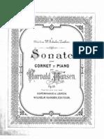 Hansen Cornet Sonata Op18