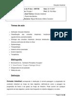 Oclusao Intestinal