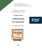 Topografie Si Cadastru - Valeriu Moca, 2002