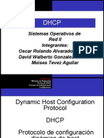 Servido DHCP