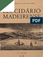 Elucidário Madeirense Vol II