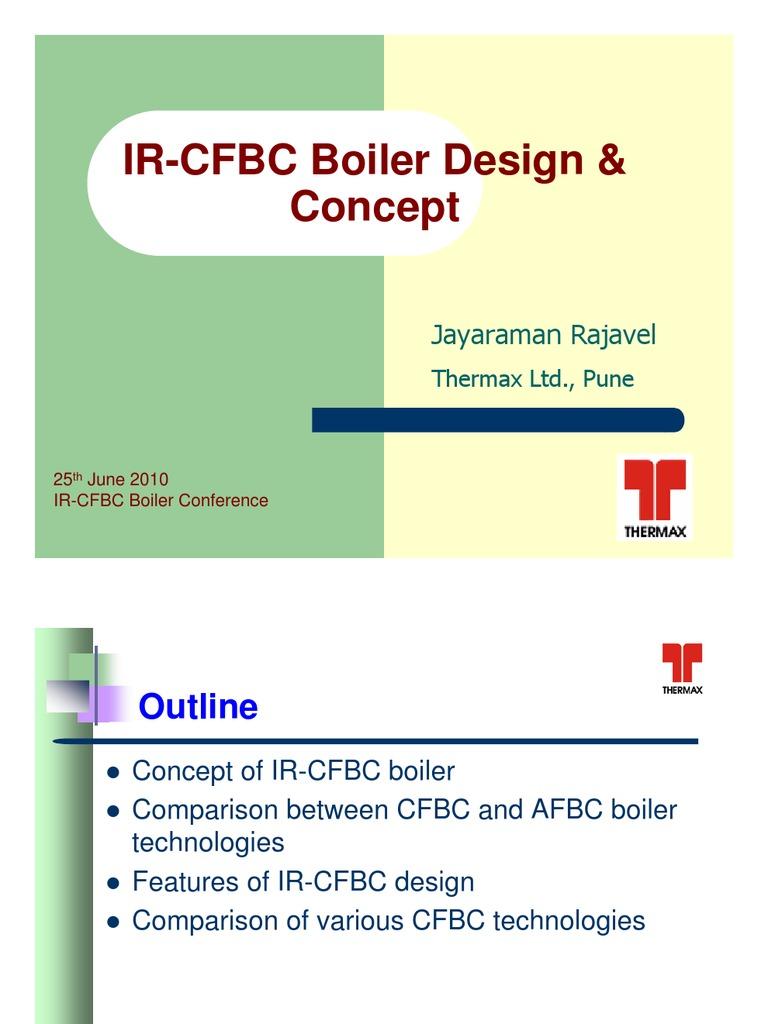 Thermax IR-CFBC Conference rajavel - Distribution Copy | Furnace ...