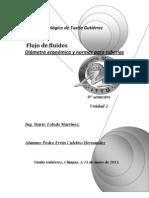 Diámetro económico y normas para tuberias