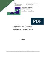 00688 - Apostila de Química Analítica Quantitativa