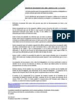 INFORMACION COMISION SEGUIMIENTO SRBS-AMPAS  13-10-11
