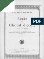 943903 Etude Sur Le Choral Decole Charles Koechlin