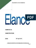 Elance Assignment