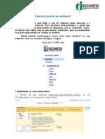 Marcadores webmail