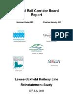 Lurs Central Rail Corridor Board Report