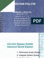 sistem politik, gabriel edmund- david easton
