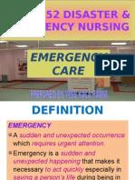 Nur 3552 Emergency Care