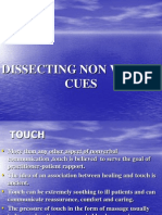 Dissecting Non Verbal Cues