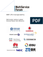 MSF LTE Interoperability 2010 White Paper