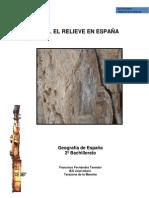 Tema 1 El Relieve en España