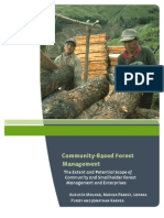 Community Based Forestry