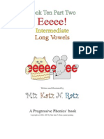Book 10 Intermediate Vowels Part Two