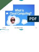 Cloud Computing by Abhishek Singh