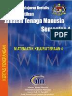 Matematik Kejuruteraan 4 Kertas Penerangan