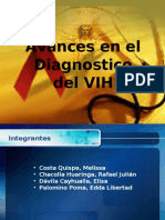 Avances en El Diagnostico Del VIH