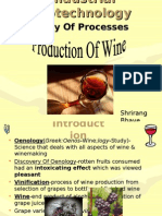 Wine Production By Shreerang Bhave