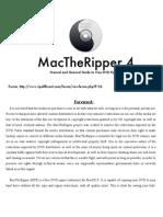 MacTheRipper 4.0 Manual