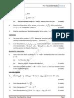Pre Final Add MathsPaper 1@F4_2011
