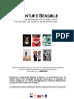 Programme de l' aventure sensible Saison 2011 / 2012