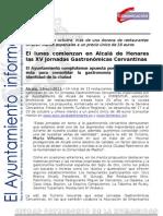 TURISMO Jornadas Gastronómicas Cervantinas(2)