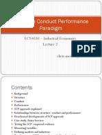 L2 - Structure Conduct Performance Paradigm