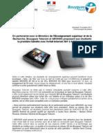 Bouygues Telecom et ARCHOS proposent aux étudiants la première tablette avec forfait Internet 3G+ à 0,66€ par jour