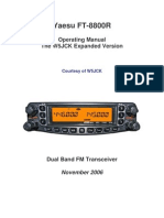 Yaesu FT-8800R manual w5jck expanded version