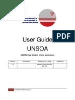 User Guide Unsoa Ver 1.0