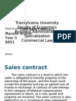 Civil Sale Contract