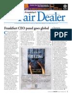 Frankfurt Fair Dealer, October 14, Day 3