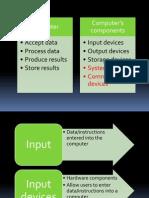 Chapter 2 Hardware (Summary PPT 2007)